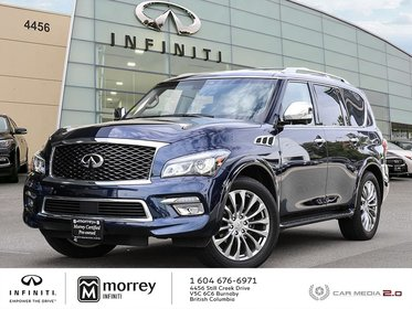 2017 Infiniti QX80 Technology Package - Full Load, Like New !