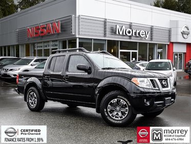 2016 Nissan Frontier Crew Cab PRO-4X Leather * Navi, Backup Camera, USB, Hitch!