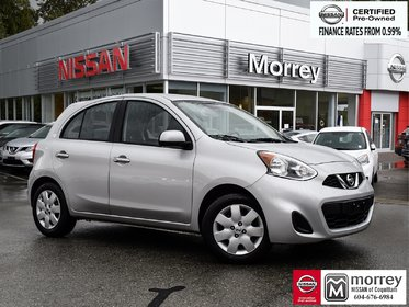 2015 Nissan Micra SV * Local BC Vehicle, One Owner, No Collisions!