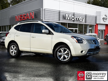 2009 Nissan Rogue SL AWD Leather & Technology * Bluetooth, Moonroof!