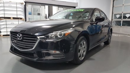 Mazda3 **RÉSERVÉ**, GX, A/C,  CAMERA, BLUETOOTH 2017