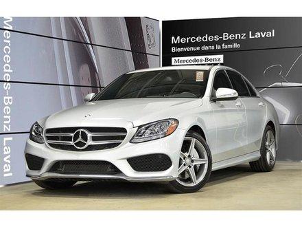 2015 Mercedes-Benz C300 4matic Sedan Certifie, Ensemble Sport, Jantes AMG