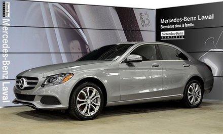 2016 Mercedes-Benz C300 4matic Sedan Certifie, 4matic, Peinture Metallisee