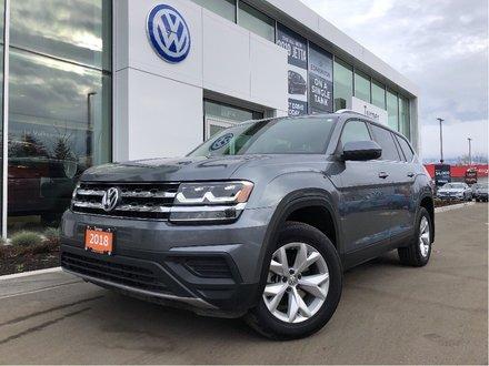 2018 Volkswagen Atlas Trendline 4Motion 7 Seat **DEMO**