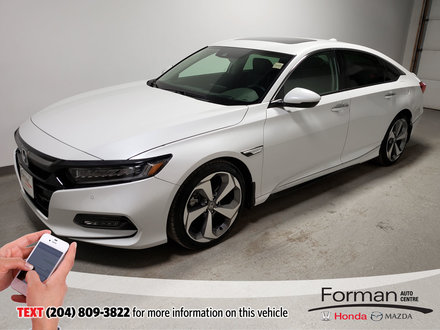 2019 Honda Accord Touring 2.0L Turbo|Warranty|Clearance