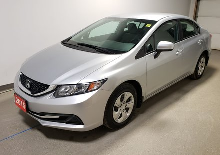 2015 Honda Civic LX|Certified|Extended Warranty|See Notes