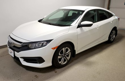 2017 Honda Civic LX Certifed Htd Seats Camera  Wtr Tires/Rims