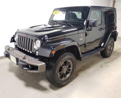 2017 Jeep Wrangler Sahara|Warranty