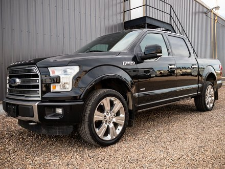 2016 Ford F-150 SuperCrew LIMITED **LEATHER-NAV-SUNROOF**