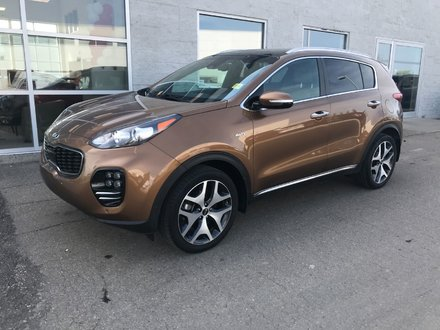 2017 Kia Sportage SX Turbo AWD | LEATHER | NAVI | SUNROOF |
