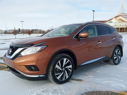 2015 Nissan Murano PLATINUM  **LEATHER-NAV-SUNROOF**
