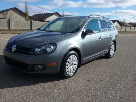 2014 Volkswagen Golf wagon TDI
