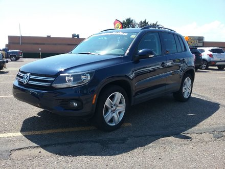 2016 Volkswagen Tiguan 2.0 TSI Luxury 4Motion