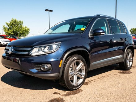 2017 Volkswagen Tiguan 2.0T 4Motion HIGHLINE!