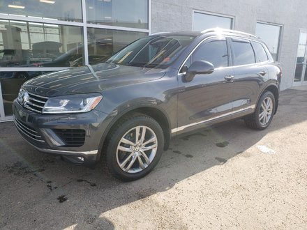 2016 Volkswagen Touareg HIGHLINE | LEATHER | NAVIGATION | SUNROOF
