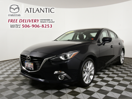 2015 Mazda Mazda3 GT Factory Warranty One Owner Dealer Maintained