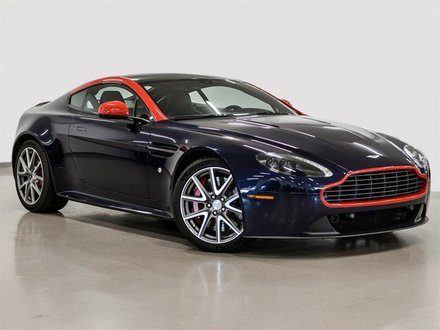 2015 Aston Martin Vantage GT Coupe Manual