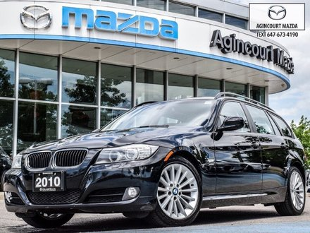 2010 BMW 328i XDrive Touring   Pano   Lthr   Htd Sts & Steering
