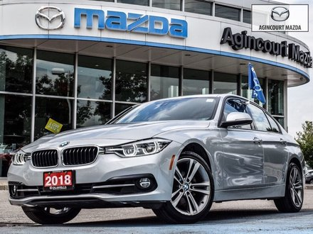 2018 BMW 330i XDrive   Sport   Navi   Sunroof   Htd Sts   LED
