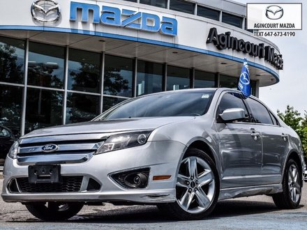 2010 Ford Fusion Sport 3.5L V6 AWD   Sunroof   Lthr   Htd Sts