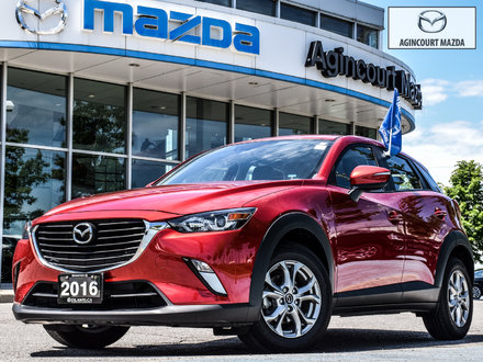 2016 Mazda CX-3 GS   Lthr   Sunroof   Htd Sts   Camera   Bluetooth