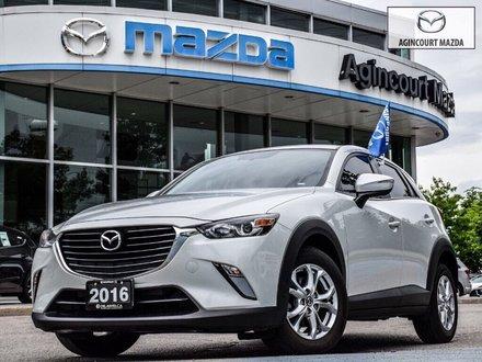 2016 Mazda CX-3 GS AWD   Lthr   Sunroof   Htd Sts   Rear Camera