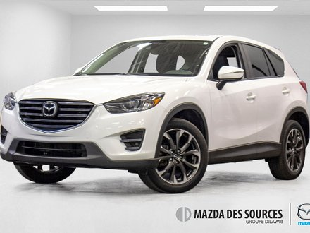 2016 Mazda CX-5 GT TECH AWD CUIR TOIT OUVRANT SIEGES CHAUFFANTS