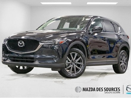 2018 Mazda CX-5 GT AWD CUIR TOIT OUVRANT TRES BAS KM