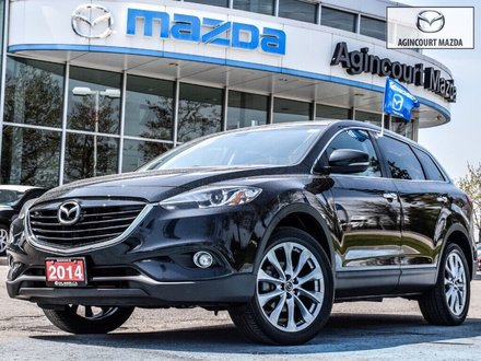 2014 Mazda CX-9 GT   Navi   Sunroof   Bose   Lthr   Rear Cam