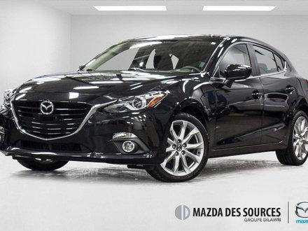 2014  Mazda3 Sport GT Toit Ouvrants Sieges Chauffants 2.5L