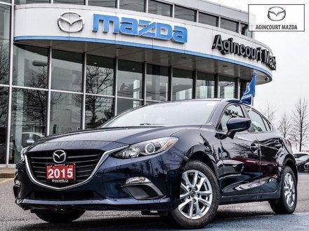 2015 Mazda Mazda3 Sport GS   No Accidents   Rear Camera   Bluetooth