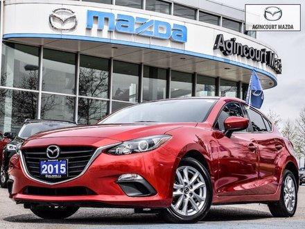 Mazda Mazda3 Sport GS   Htd Sts   Rear Cam   Touchscreen   Bluetooth 2015
