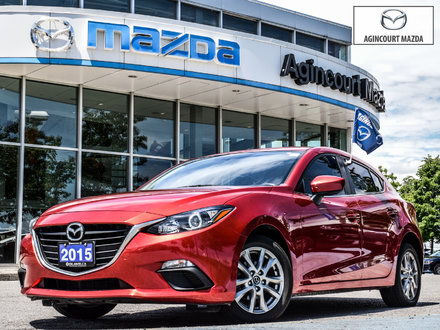 Mazda3 Sport GS   Htd Sts   Rear Cam   Touchscreen   Bluetooth 2015