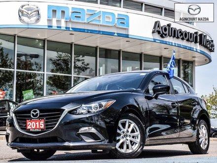 2015  Mazda3 Sport GS   No Accidents   Bluetooth   Rear Camera   A/C