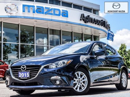 2015  Mazda3 Sport GS   Leather   Sunroof   Navi   Heated Seats