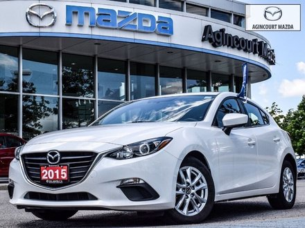 2015  Mazda3 Sport GS   Heated Seats   Bluetooth   Rear Camera   A/C