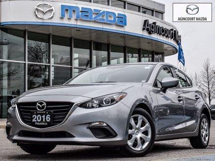 2016 Mazda Mazda3 Sport GX   Bk up Cam   Push start   Bluetooth   USB