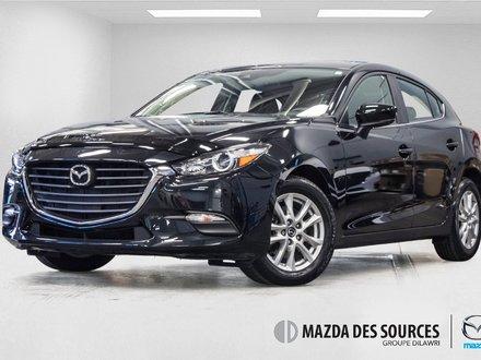 2018  Mazda3 Sport GS automatic tres bas km