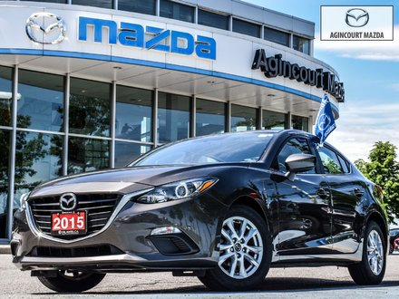 2015  Mazda3 GS   Heated Seats   Rear Camera   Bluetooth   A/C