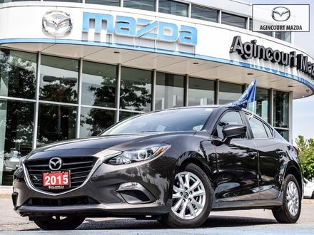 Mazda3 GS   Htd Sts   Bluetooth   Rear Cam   Alloy Rims 2015