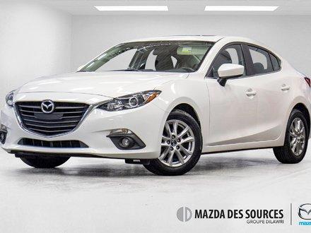Mazda3 GS Toit Ouvrant Sieges Chauffants Caméra de recul 2015