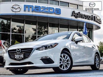 2016  Mazda3 GS   Heated Seats   Rear Cam   Bluetooth   Alloys