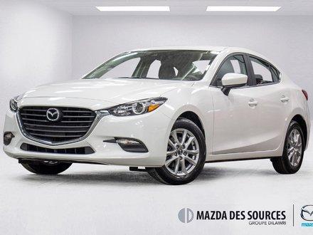 2018 Mazda Mazda3 SE (AUTO) Similicuir AC Sieges Chauffants BAS KM