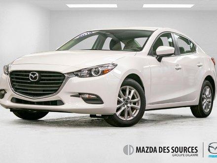 2018  Mazda3 SE (AUTO) Cuir AC Sieges Chauffants BAS KM
