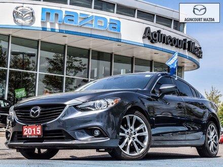 2015  Mazda6 GT Tech   Navi   Sunroof   Bose   Lthr   Htd Sts
