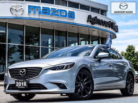 Mazda6 GT   Sunroof   Navigation   Leather   Heated Seats 2016