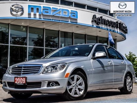 2009 Mercedes-Benz C230 4MATIC   1Owner   Winters   Heated Seats   Leather