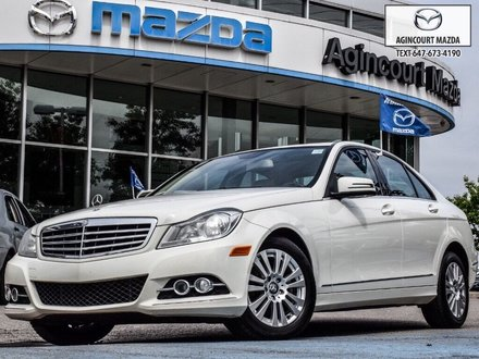 2012 Mercedes-Benz C250 4MATIC   Sunroof   Navi   Lthr   Htd Sts   Alloys