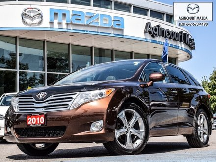 Toyota Venza V6 AWD   Rear Camera   Heated Seats   Sunroof 2010