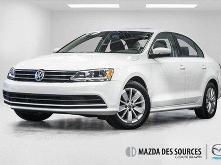Volkswagen Jetta TSI Trendline bluetooth Camera de recul 2016